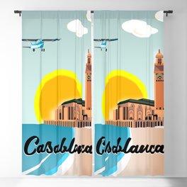 Casablanca Morocco Blackout Curtain