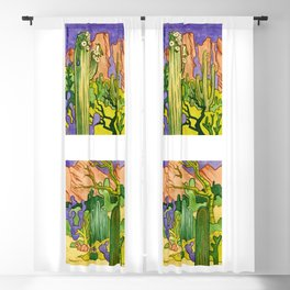 Desert Diptych Blackout Curtain