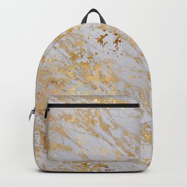 Marble Gold 1 Backpack