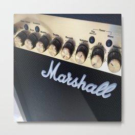 Marshall Amp Metal Print