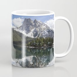 Looking South Towards Mt Burgess from Emerald Lake Coffee Mug