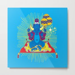 Elephant God Metal Print