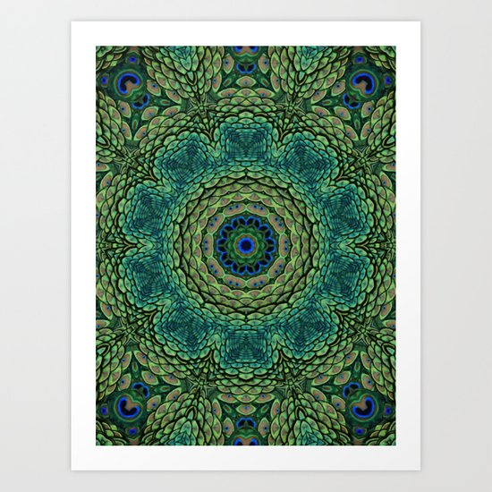 Shangri-La Mandala Art Print