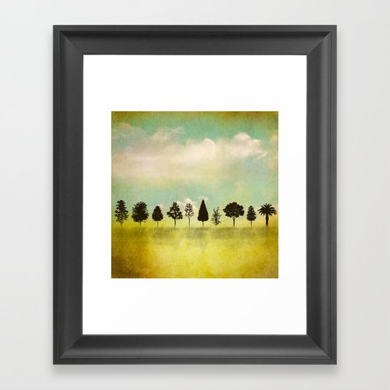 IN RANK AND FILE Framed Art Print