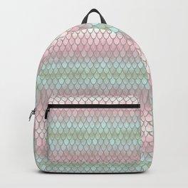 Pretty Mermaid Scales 19 Backpack