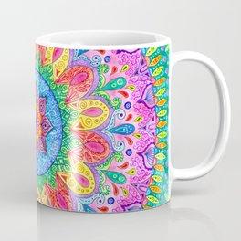 Summer Rain Mandala Coffee Mug
