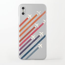 Aerial acrobat Clear iPhone Case