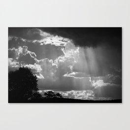 Sun Shower, Kelvin, NSW, Australia Canvas Print
