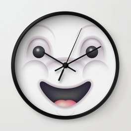 Mashmallow Selfie Wall Clock