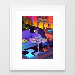 Mixtapes Memories Framed Art Print