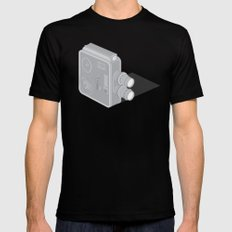 Meopta Camera Black X-LARGE Mens Fitted Tee
