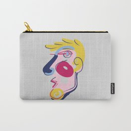 Big Blonde Guy - Modern Abstract Portrait Carry-All Pouch
