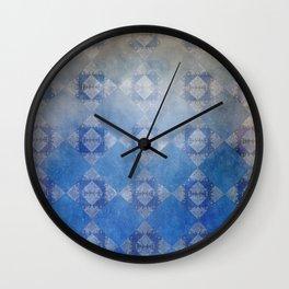 Sad Harlequin Wall Clock