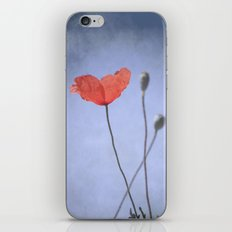 Happy poppy. Spring dreams iPhone & iPod Skin