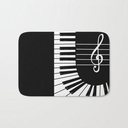 Piano Keys I Bath Mat