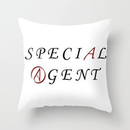 The Special Agent Throw Pillow
