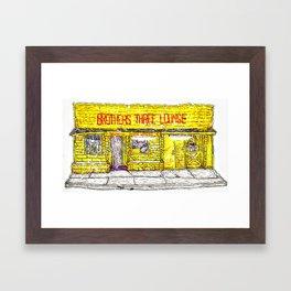 Brothers Three Lounge Framed Art Print