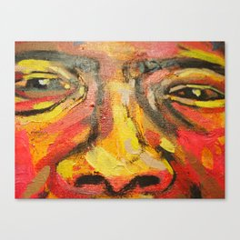 #WeStarzBurst#2: We can not all fit on a postcard painting DETAIL Canvas Print