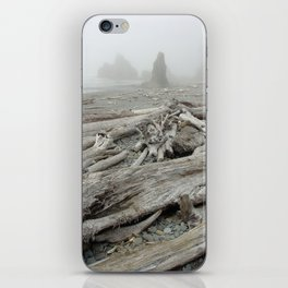 Drift wood iPhone Skin