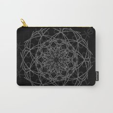 mandala in black Carry-All Pouch