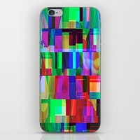 glitch iPhone & iPod Skins featuring GLITCH by C O R N E L L