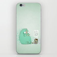 Monster and Tea iPhone & iPod Skin