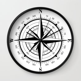 TRue North Wall Clock