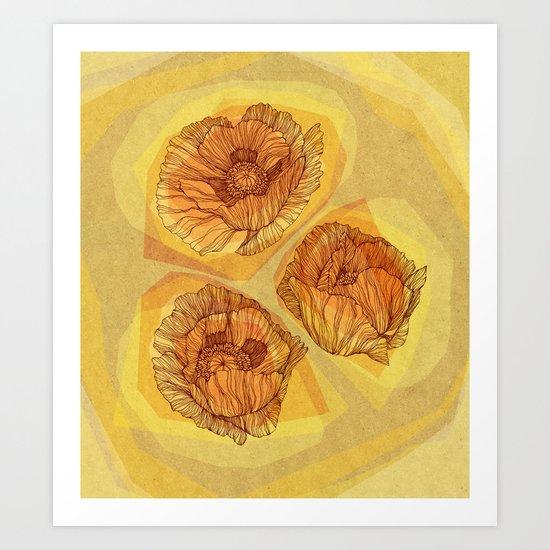 Poppies #2 Art Print