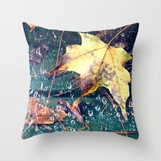 Fall in the Spider's Web Throw Pillow