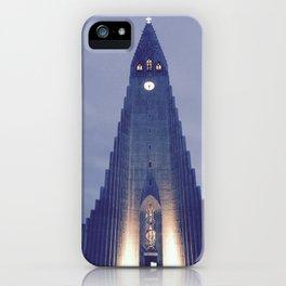 Hallgrímskirkja church iPhone Case