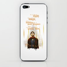 Merlin: Myth and Magic iPhone & iPod Skin