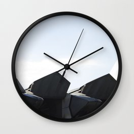 F22 F-22 Raptor Fighter Military Aircraft/Airplane Detail USAF Wall Clock