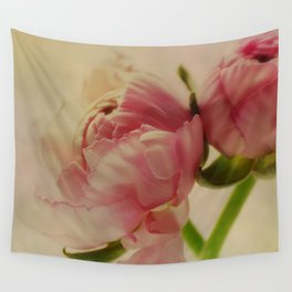 Falling in Love with rose flowers Wall Tapestry