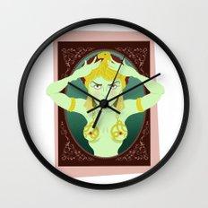 Cleopatra Theda Bara Wall Clock