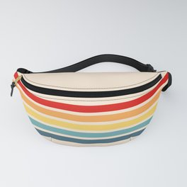 Takaakira - Classic Rainbow Retro Stripes Fanny Pack