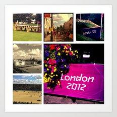 Olympic Memories Art Print