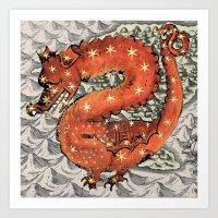 carpe diem Art Prints featuring Carpe Diem by anipani