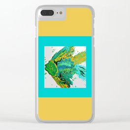 Fishy One Clear iPhone Case