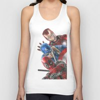 heroes Tank Tops featuring Heroes  by Molly Thomas