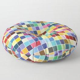 Pantone Color Palette - Pattern Floor Pillow