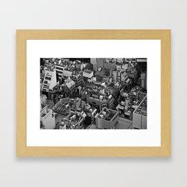 Tokyo City Framed Art Print