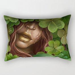 Hidden Luck Rectangular Pillow