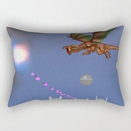 War Stars: Sparkle and flame Rectangular Pillow
