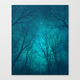 Only In the Darkness Canvas Print