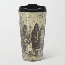 Japanese Warriors Travel Mug