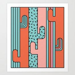 EL CACTO (PRINT) Art Print