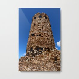 Desert View Watchtower - South Rim Grand Canyon Metal Print