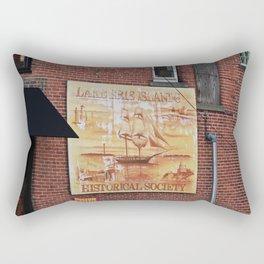 Lake Erie Islands Historical Society Rectangular Pillow