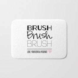 Brush Brush Brush Bath Mat
