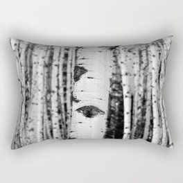 Through the Forest Rectangular Pillow